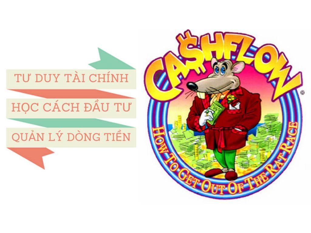 cashflow game - Tư duy tự do tài chính và làm giàu từ Cashflow Game
