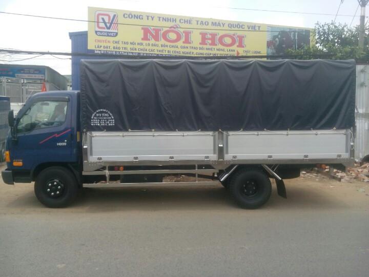 Xe tải Hyundai Hd99 6t5/6500kg/6.5 tấn nâng tải trọng lên 7t2