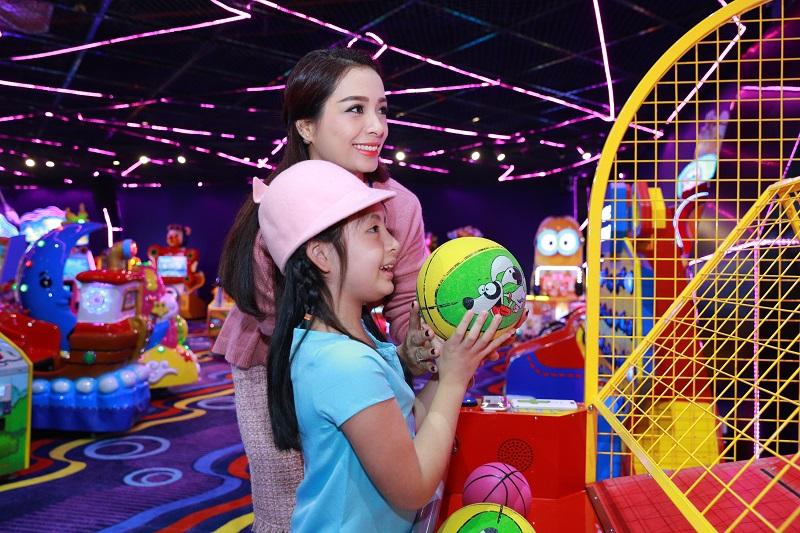trung tâm thương mại có khu vui chơi trẻ em