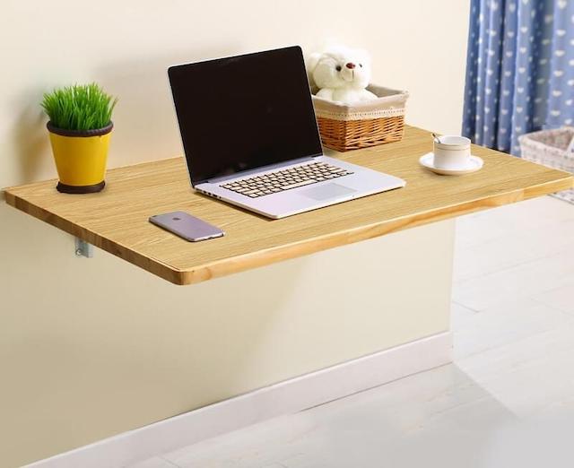 Bàn học treo tường giúp tối ưu hoá diện tích căn phòng