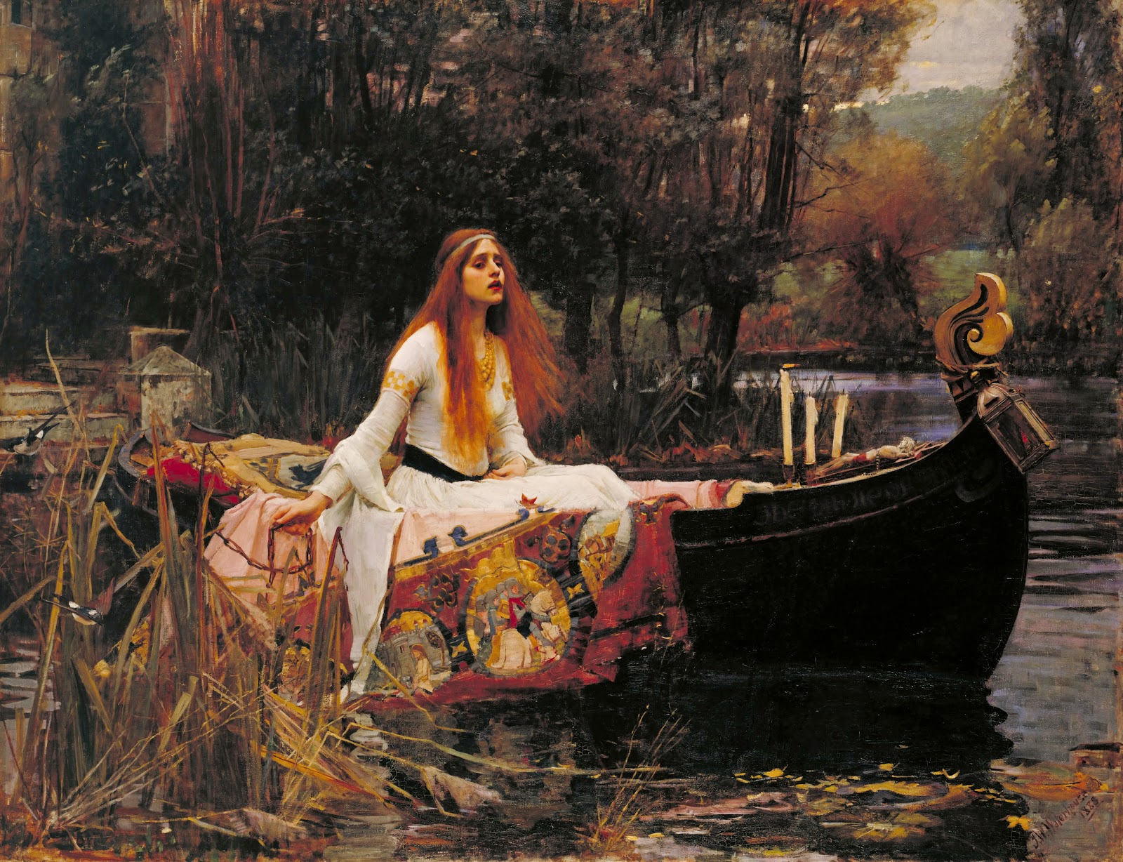 John William Waterhouse The Lady of Shalottjpg