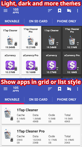 AppMgr Pro III (App 2 SD, Hide and Freeze apps)- screenshot thumbnail