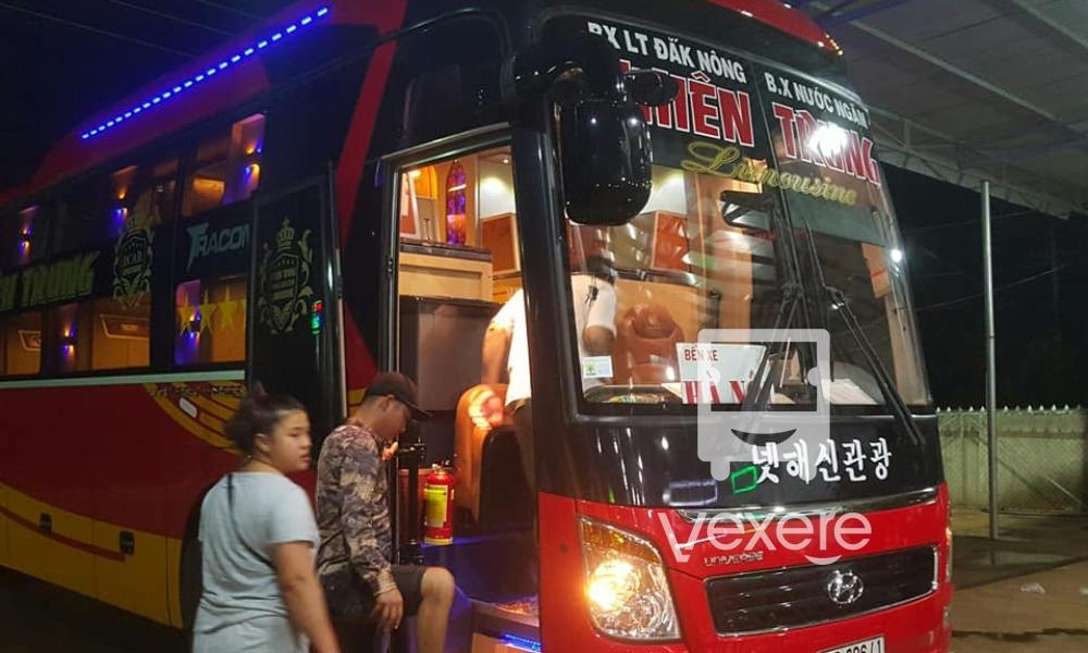 Xe Thiên Trung từ Dak Nông đi Hà Nội