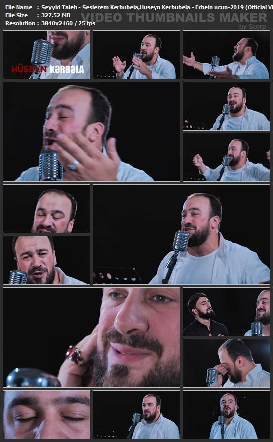 دانلود موزیک ویدیو ترکی حسین کربوبلا از سید طالع باکویی با کیفیت 4K 2160P