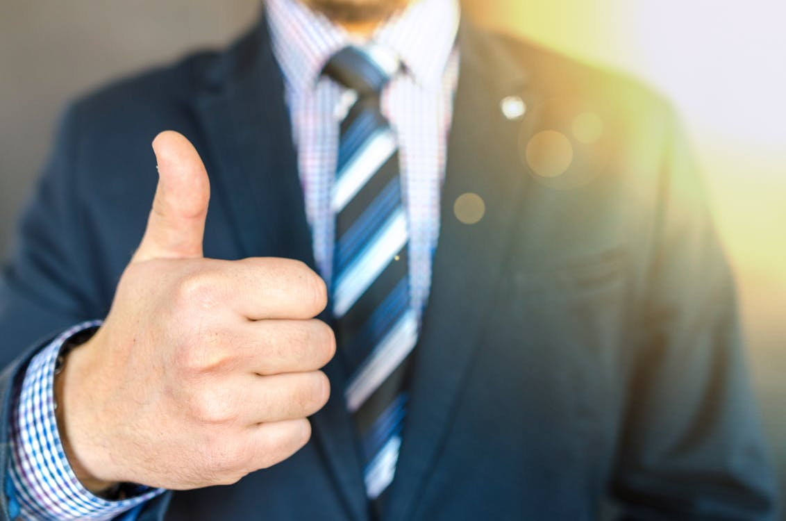 thumbs up to what to do with your profits