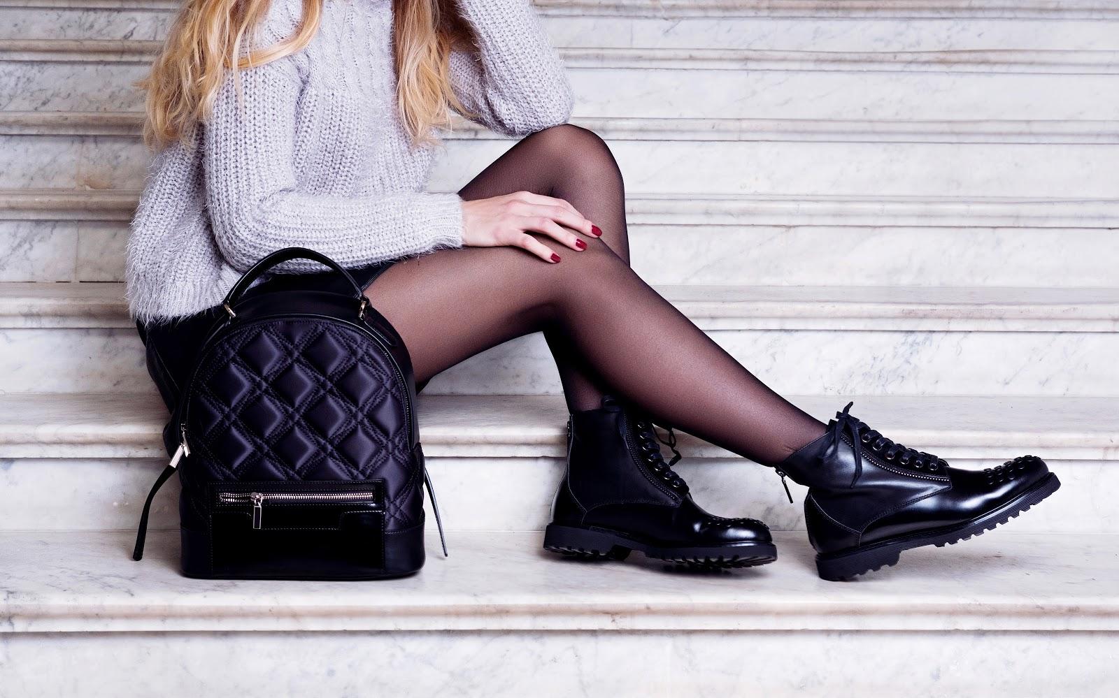 bag shoes boots winter