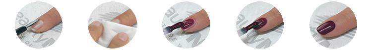 Vernis UV Monolack - Pose