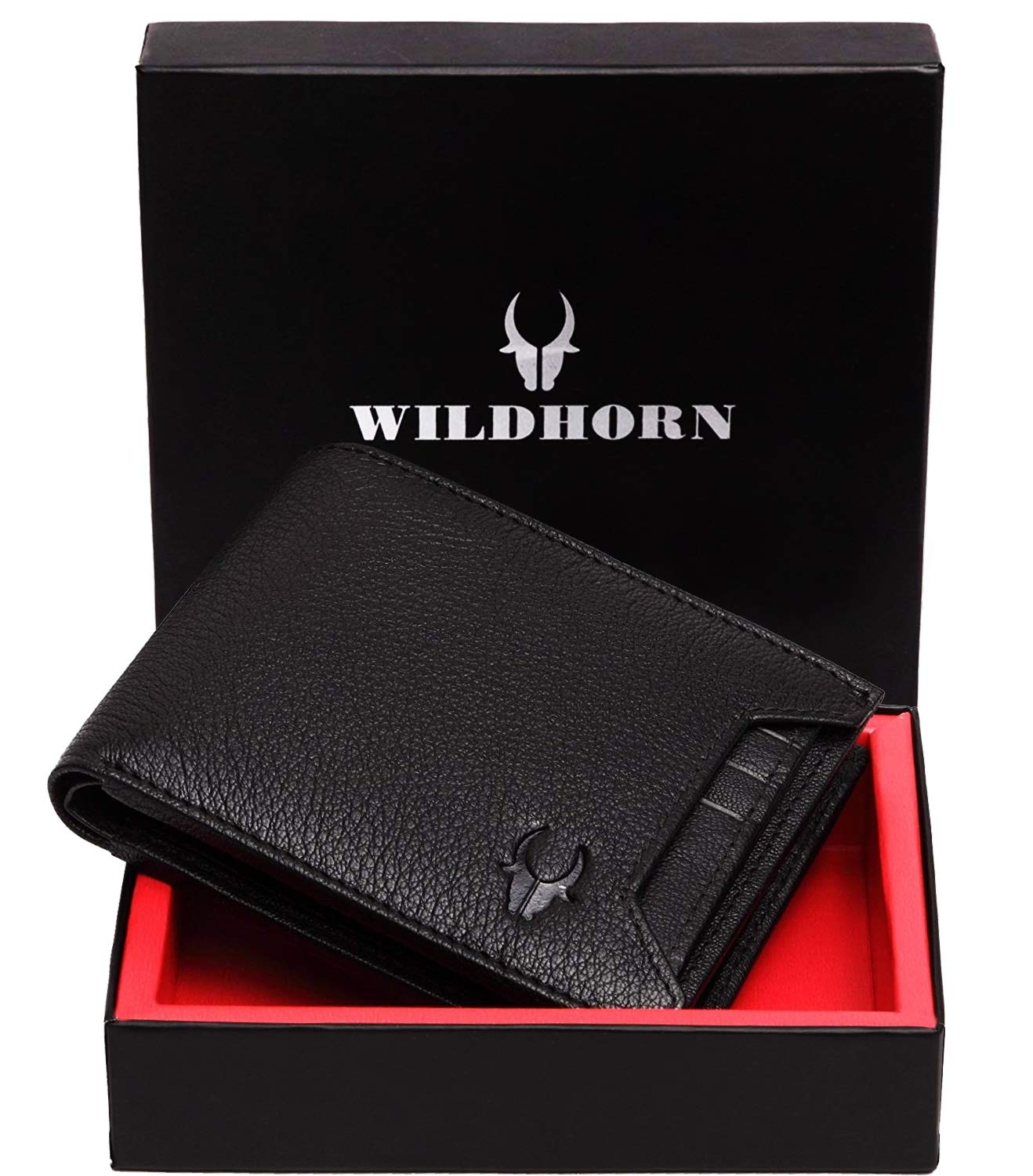 WildHorn Genuine Leather Wallet for Men