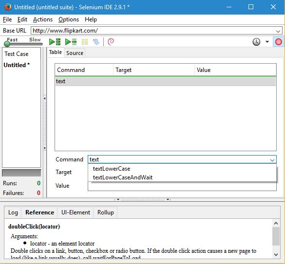 Selenium Core Extensions screen2