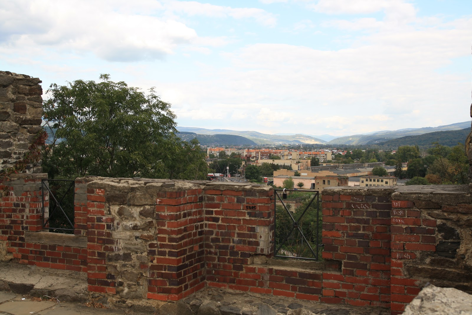 Панорама Ужгорода з Ужгородського замку