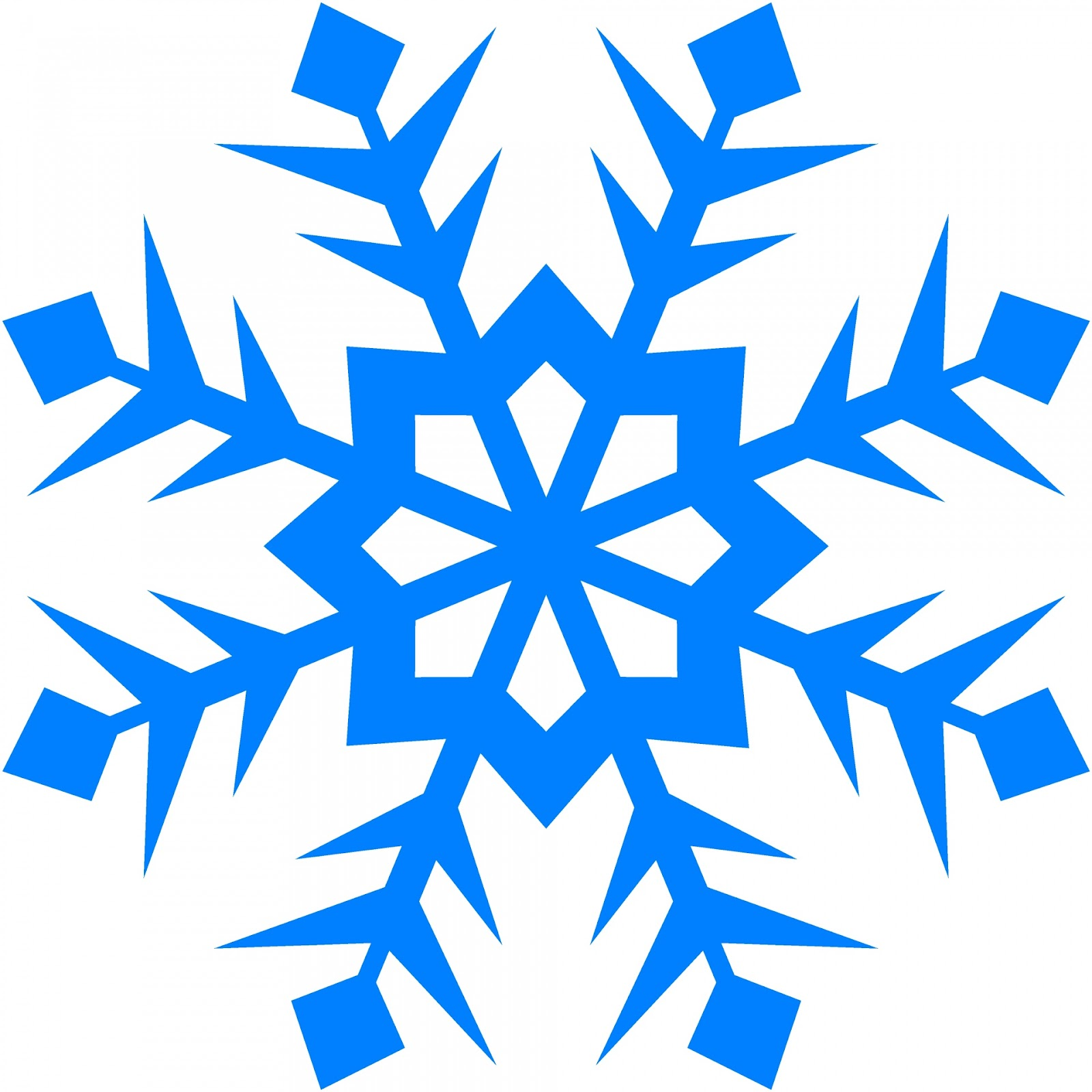 ... Blue Snowflake 99 ...