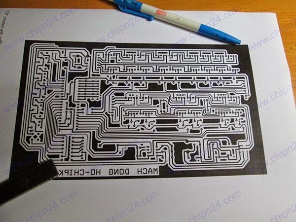 giấy in mạch điện