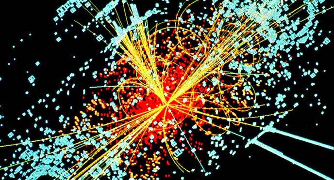 bosón de Higgs o partícula de Higgs es una partícula elemental