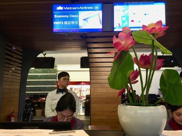 越南航空評價報到櫃檯