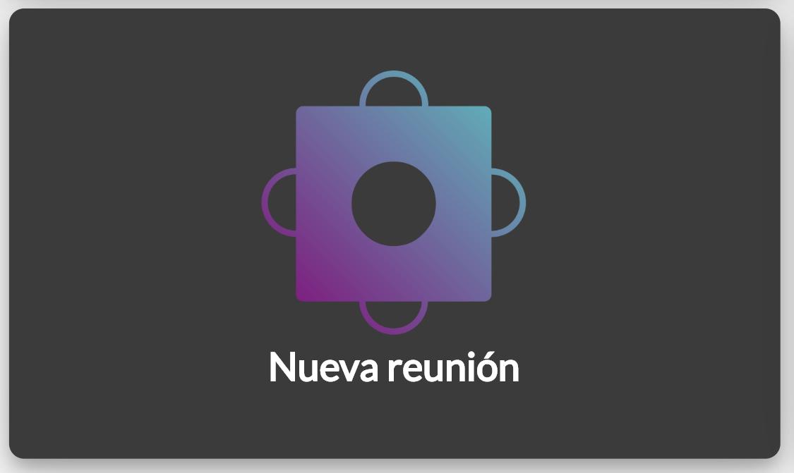 """Icono de """"Nueva reunión"""" en Councilbox"""
