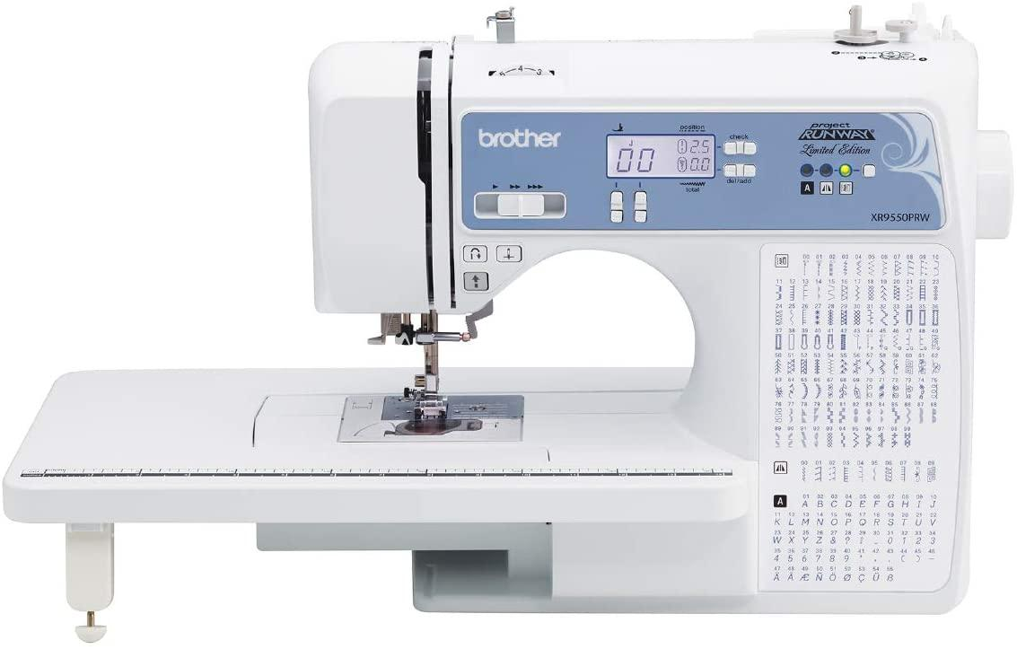 A picture containing sewing machine, appliance  Description automatically generated