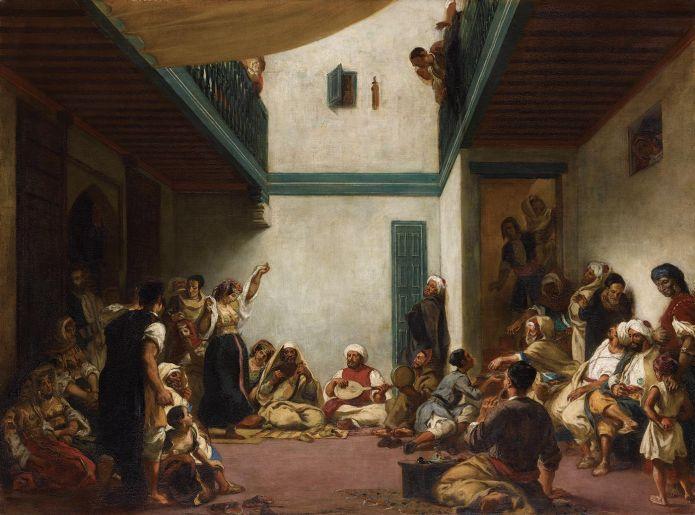"""Résultat de recherche d'images pour """"La noce juive d'Eugène Delacroix"""""""