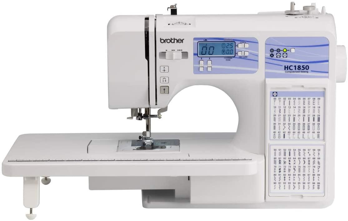 A picture containing appliance, sewing machine, white  Description automatically generated