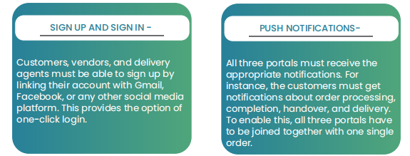 Build an On-demand Food Delivery Business: Features: Tookan