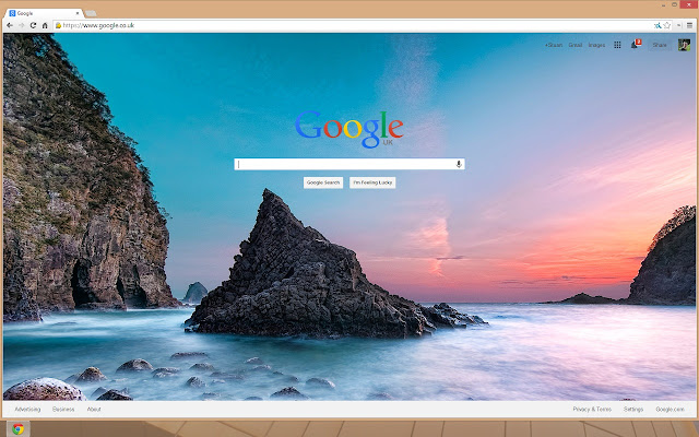 how to put wallpaper on google chrome homepage