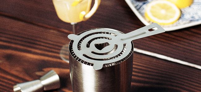 The Cocktail Strainer, A Bar Tool Set Staple