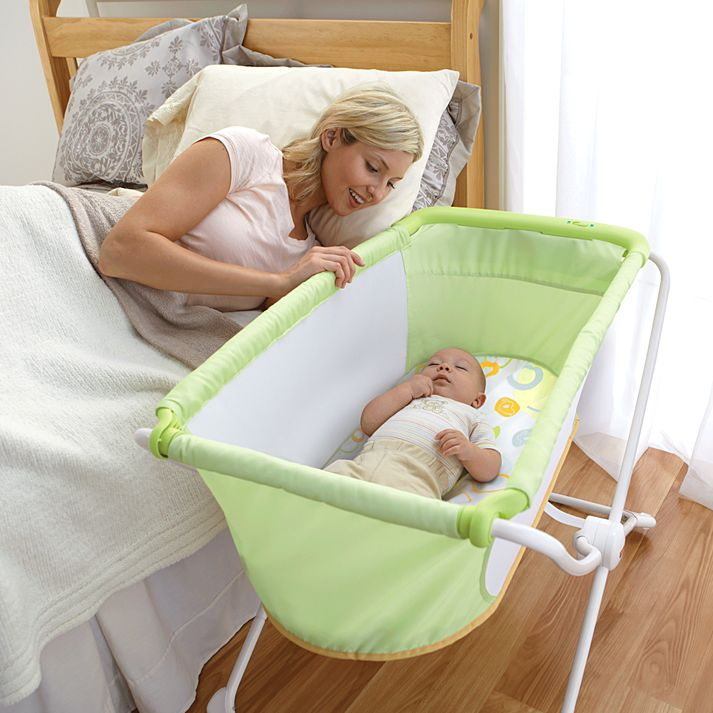 rock 'n play bassinet Review, bedside