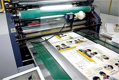 Màng Bopp được ứng dụng nhiều trong lĩnh vực in ấn