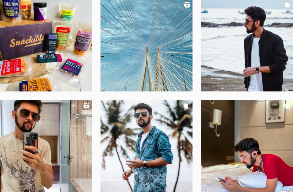 Pratik Prajapati | Instagram Gallery | Indian Influencers on Afluencer