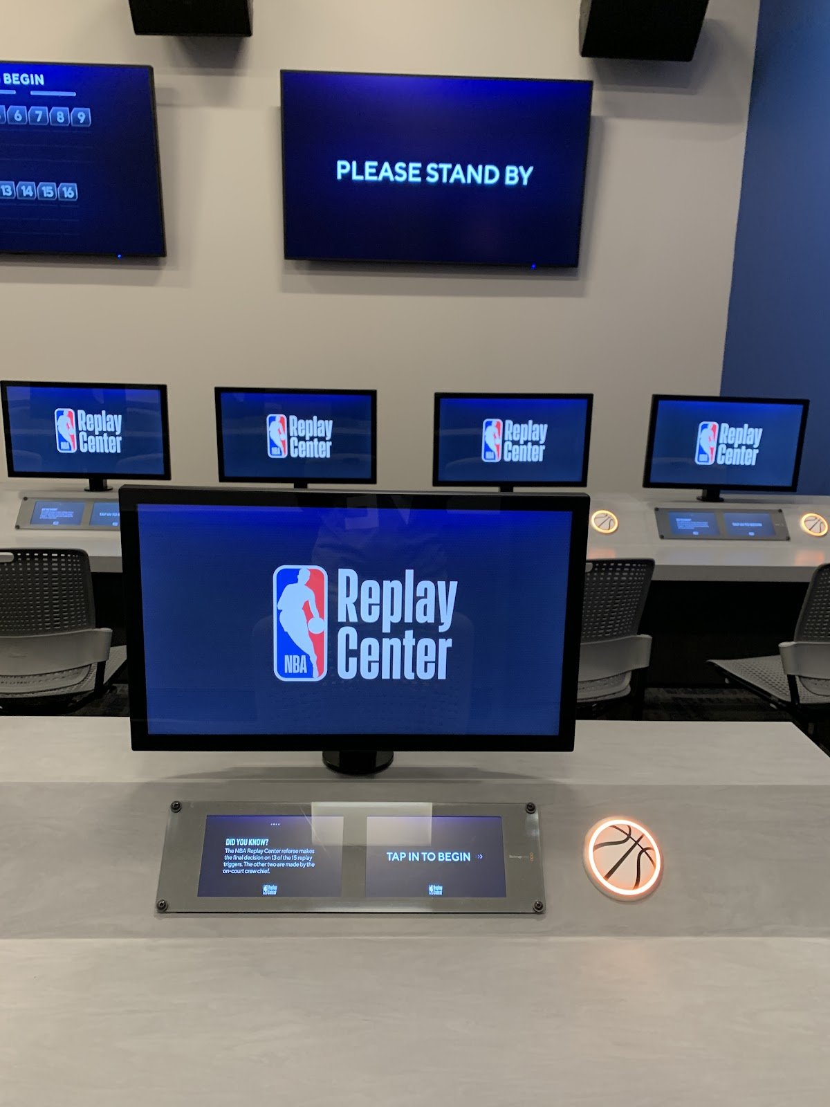 NBA Experience - Replay Center