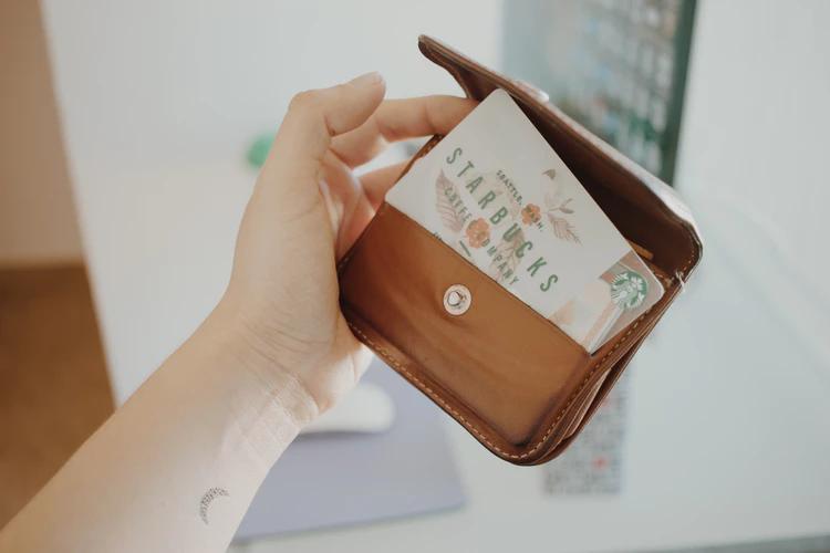 Starbucks incentive card