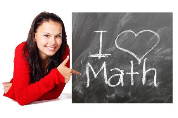 Escuela, Matemáticas, Estudio, Chica, Mujer, Estudiante