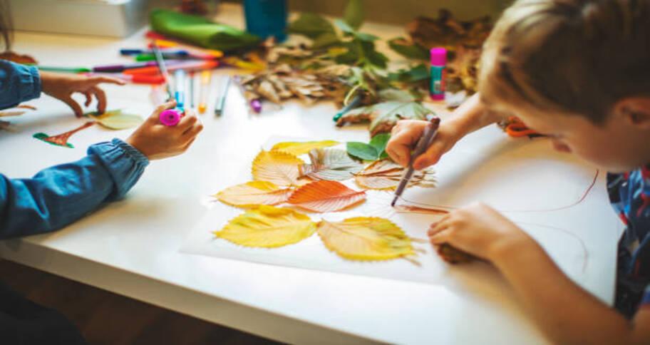Build curiosity through arts and crafts