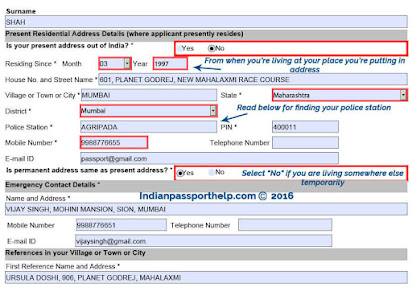 Indian Passport Application Form Download Pdf