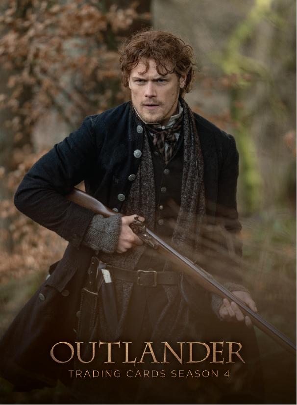 Outlander Trading Cards Season 4: Promo Cards P8