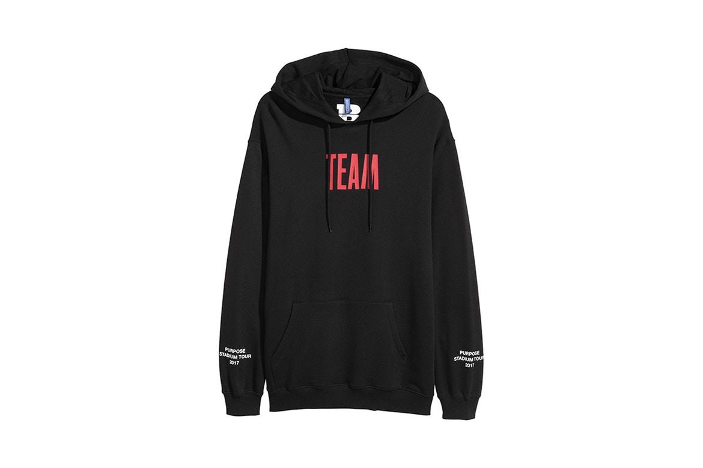 Image result for stadium tour merch h&m hoodie black team