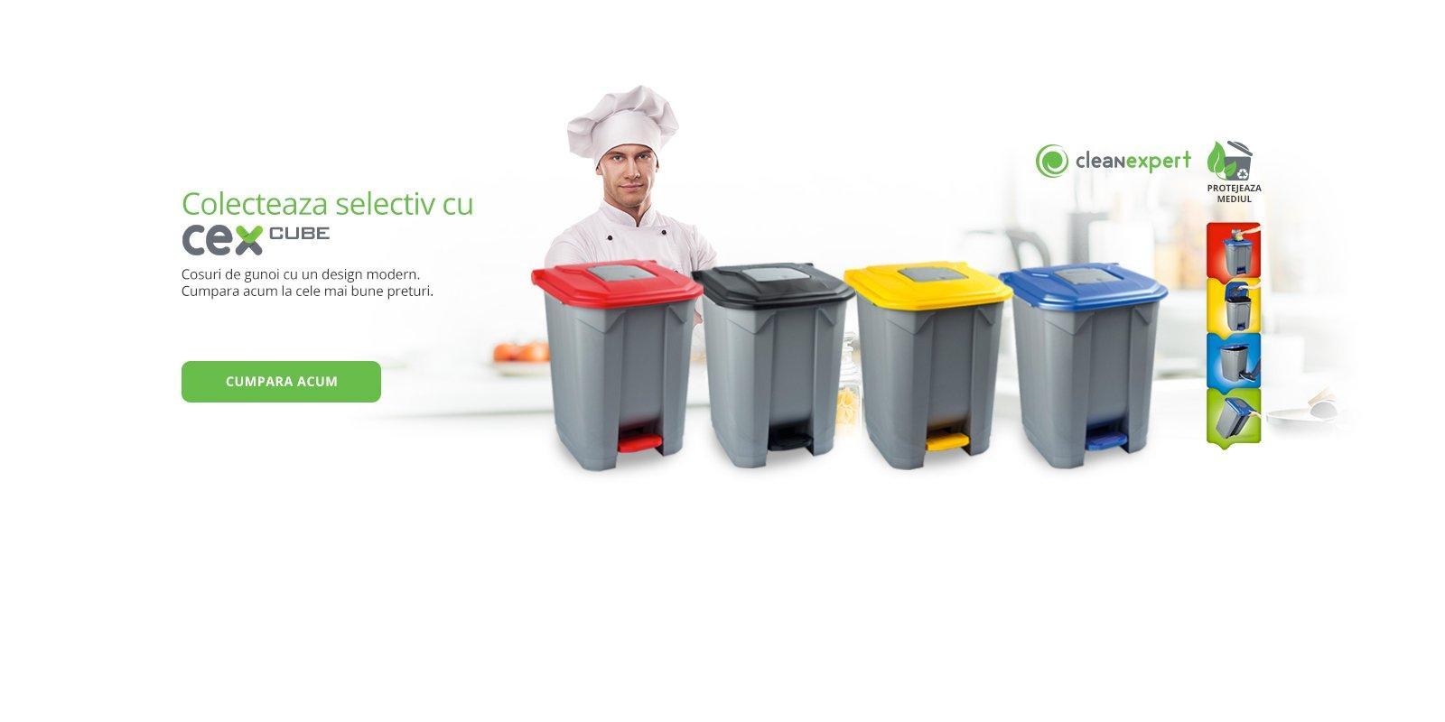 Cosuri de gunoi | Cleanexpert