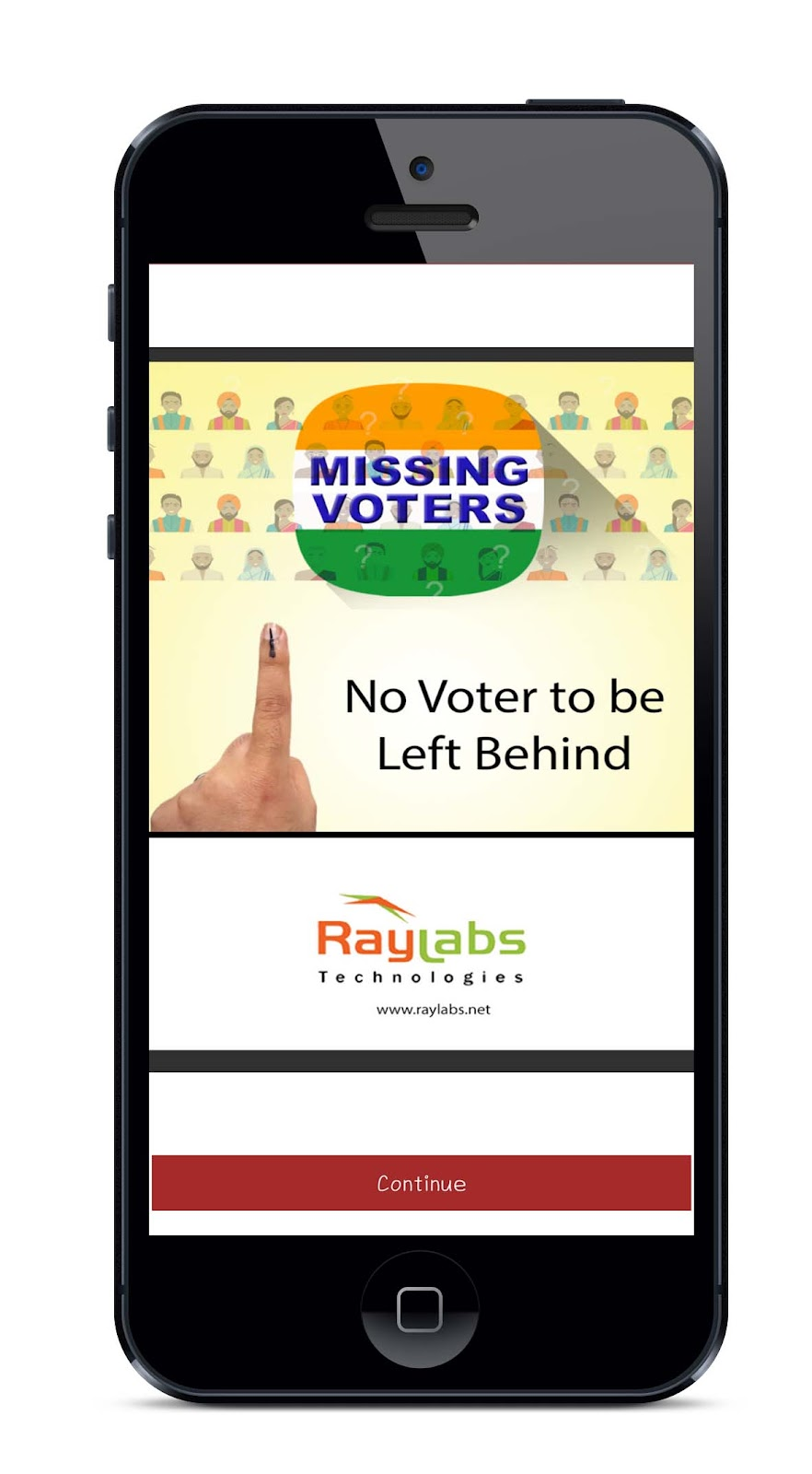 Image result for missing voters app