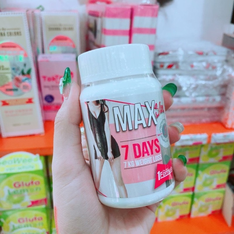Thuốc giảm cân Max Slim 7 Days