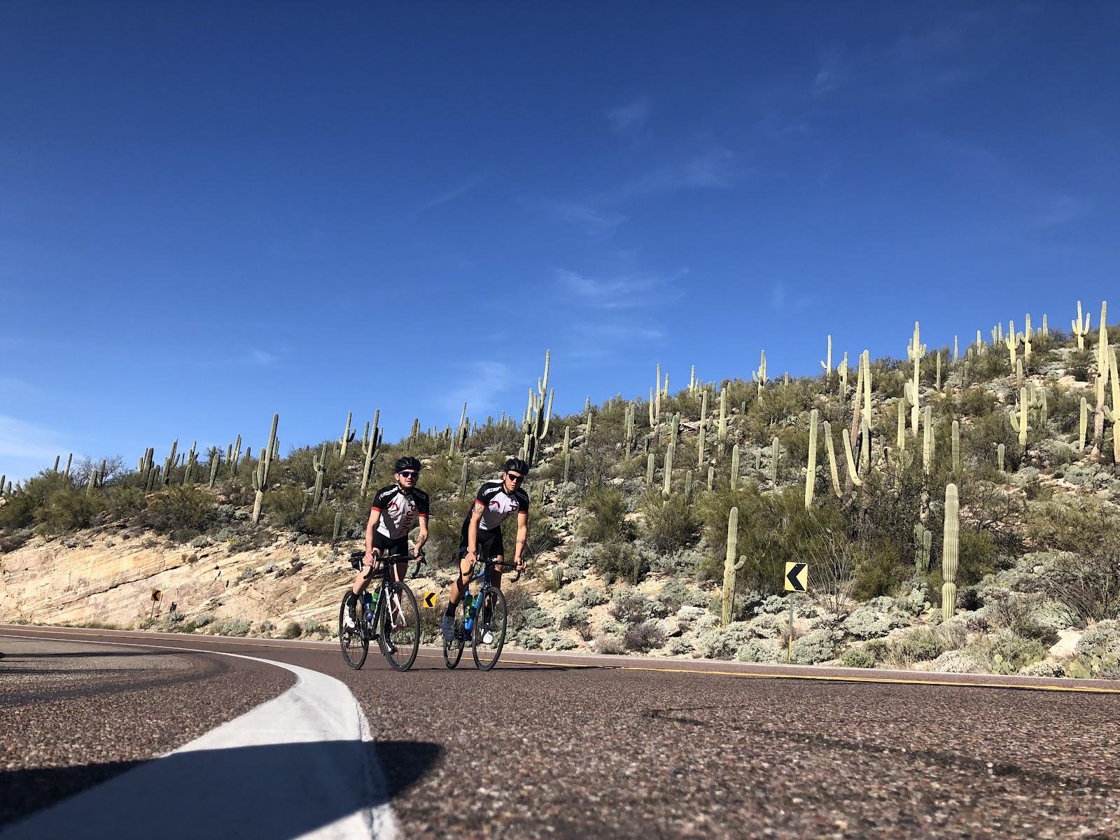 Bicycling Mt. Lemmon, Tucson, Arizona