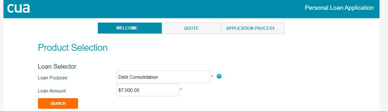 cua loans application process