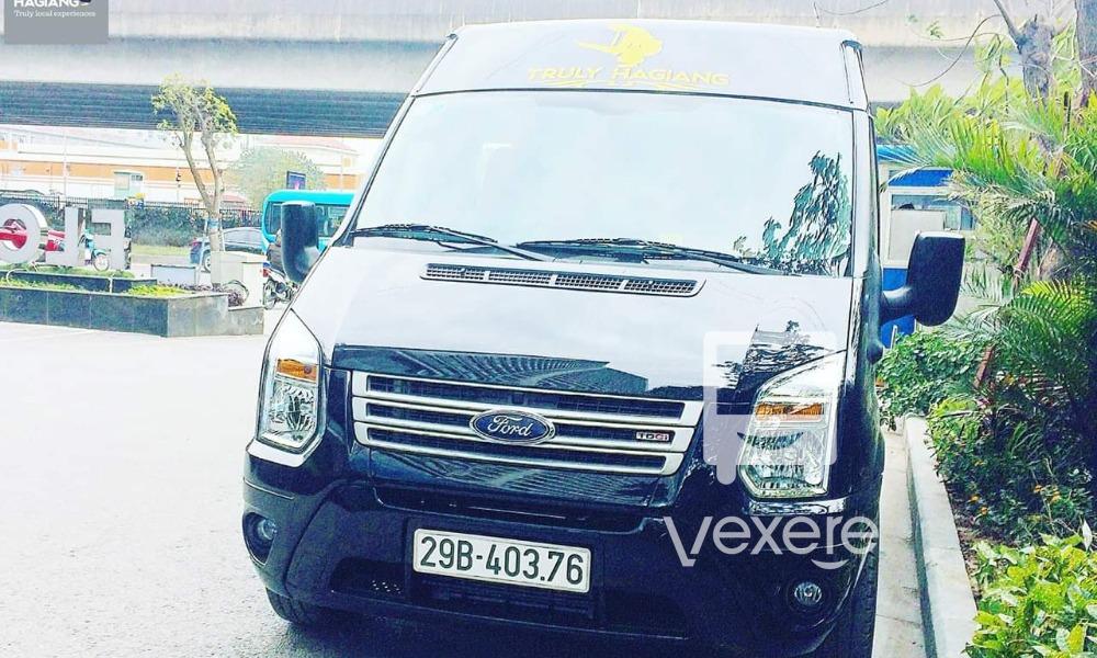 Xe Truly Hà Giang limousine đi Hà Giang từ Hà Nội