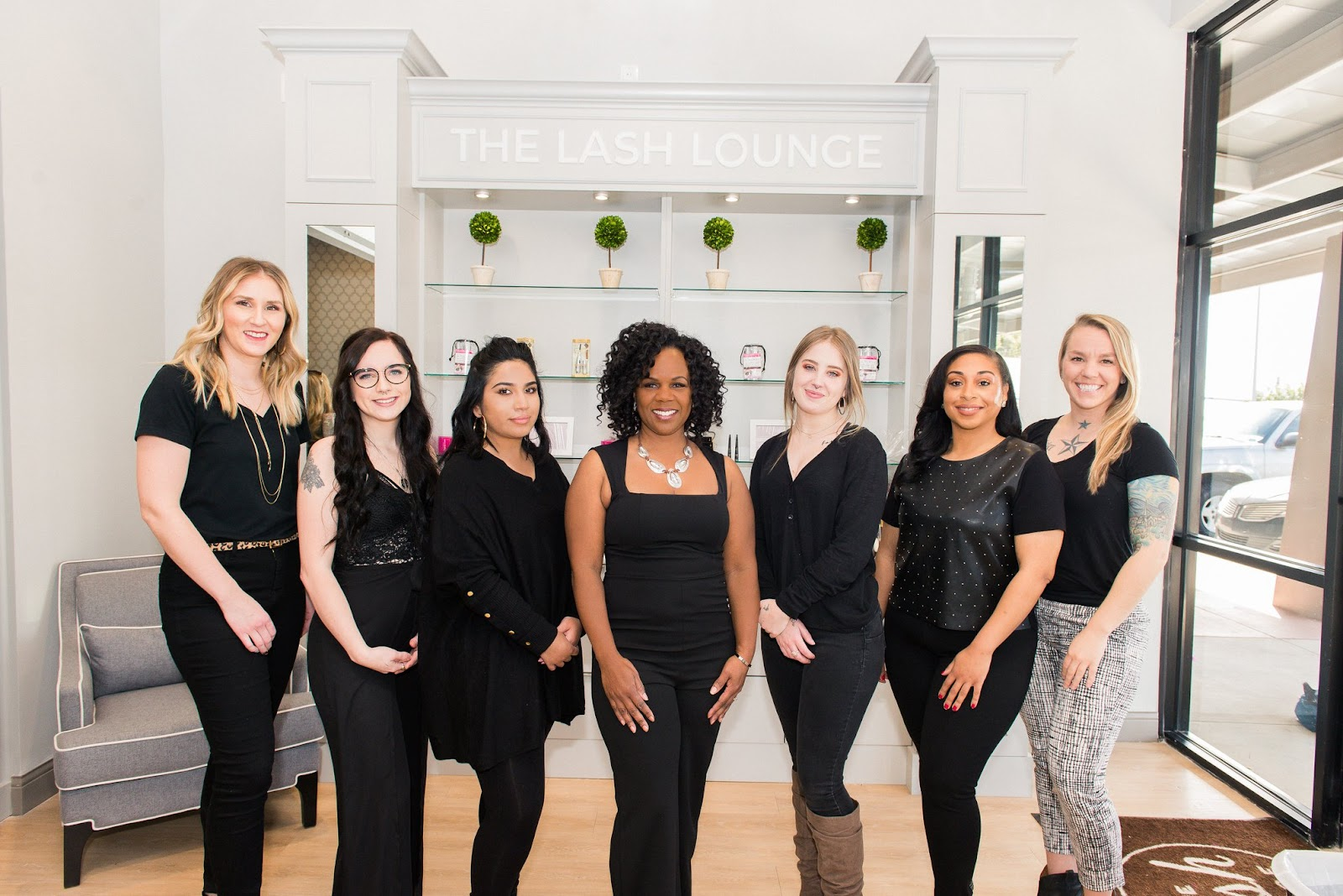 Ladies of The Lash Lounge