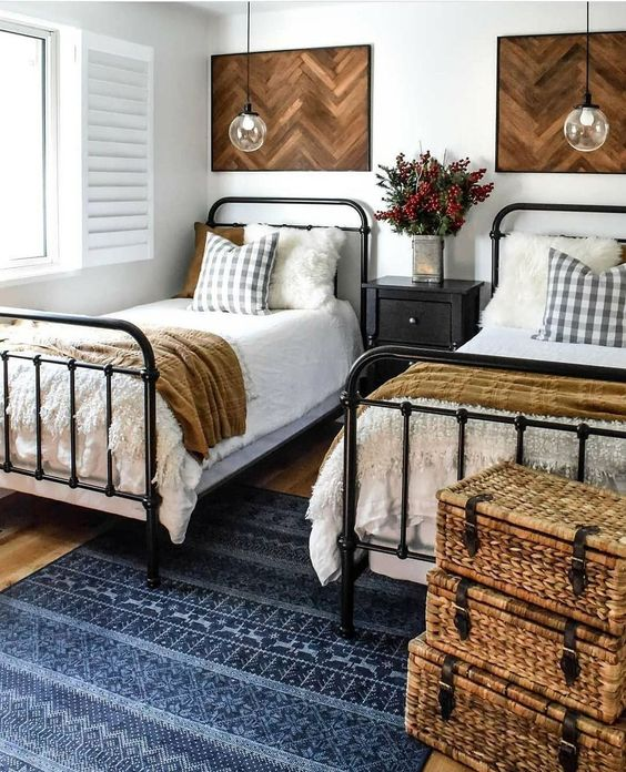Pipe Single Bed with Industrial Charm