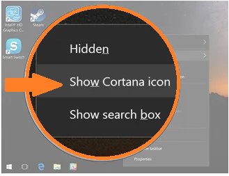How to Pin Cortana to taskbar on Windows 10 PC?