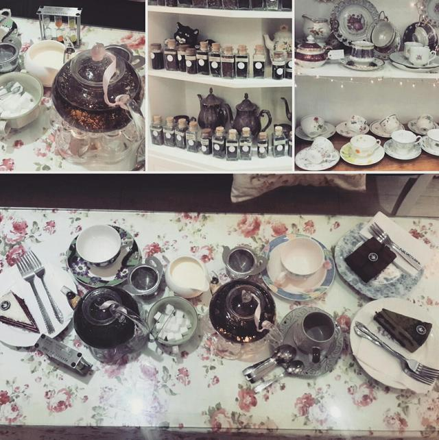 Trà kiểu anh tại Partea - English tearoom (floor 4) 42 Nguyễn Huệ Q1, TPHCM - 42 Nguyễn Huệ, Quận 1, TPHCM - undefined