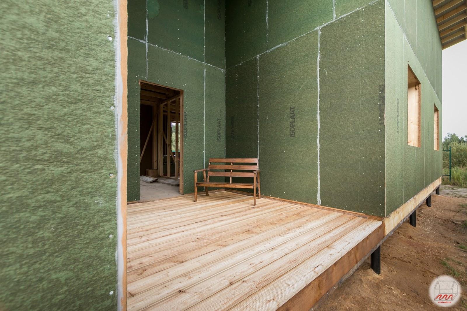 строительство частного дома фундамент