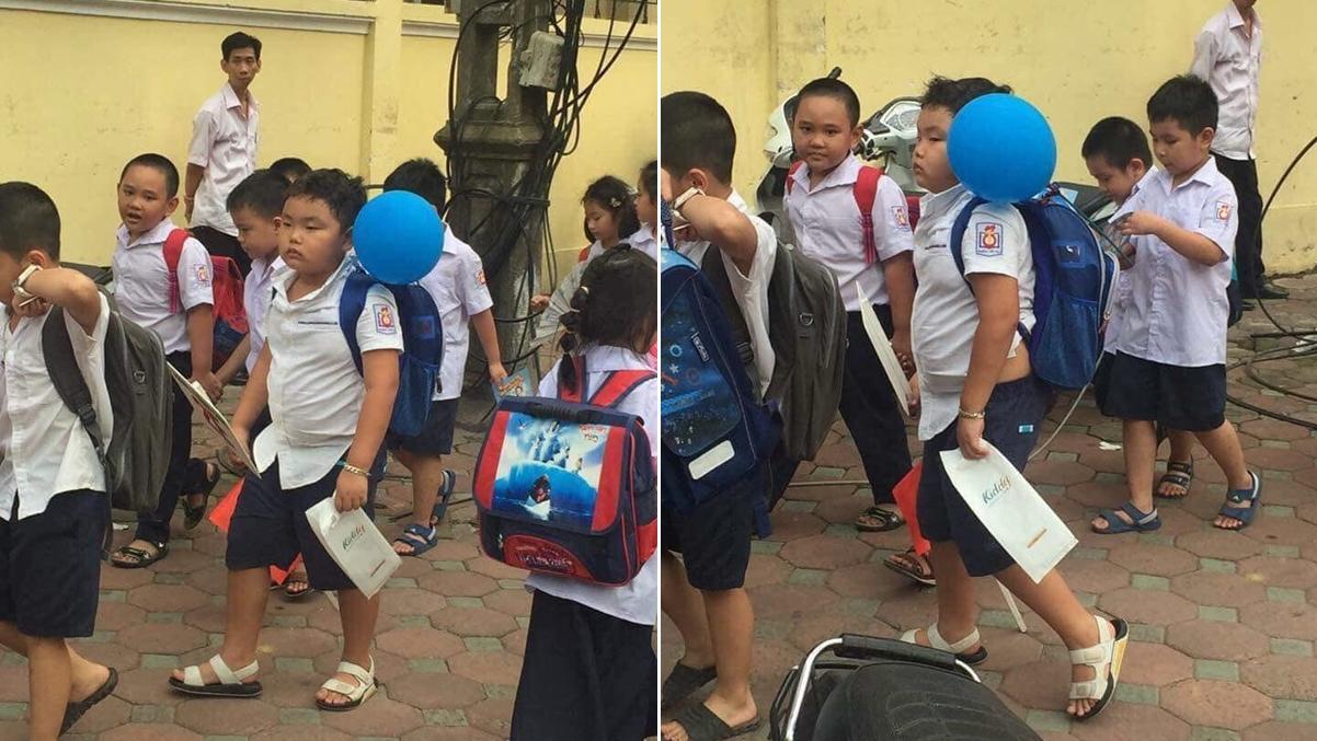 Chùm ảnh 'ngán ngẩm' của học sinh ngày khai trường - Ảnh 2