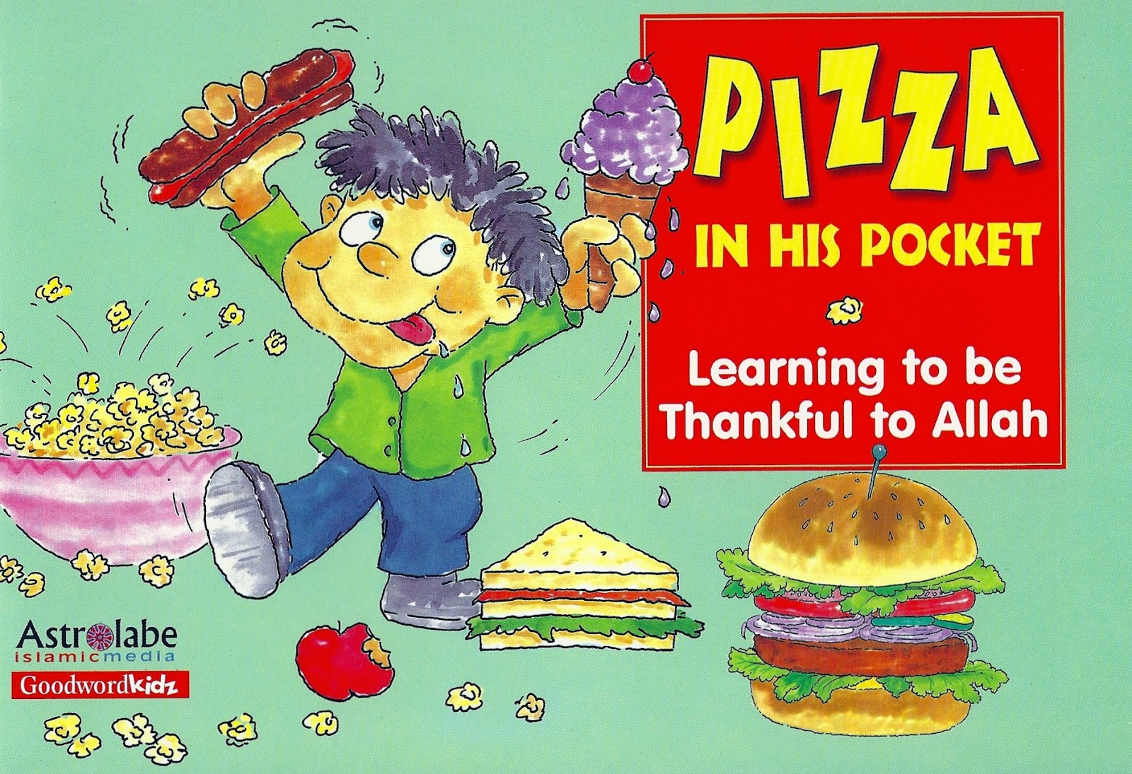 Pizza in his pocket Best Islamic book for kids