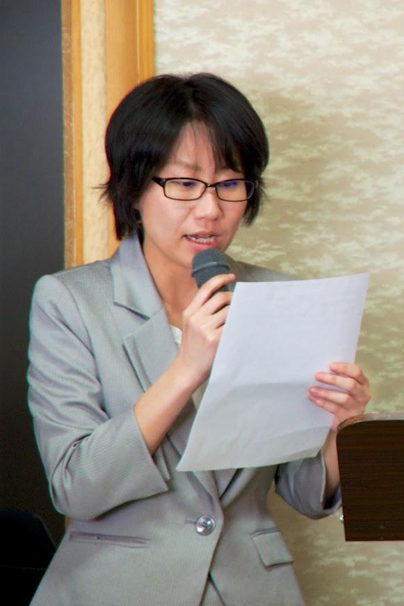 来賓ご紹介(林綾乃さんよりご紹介)
