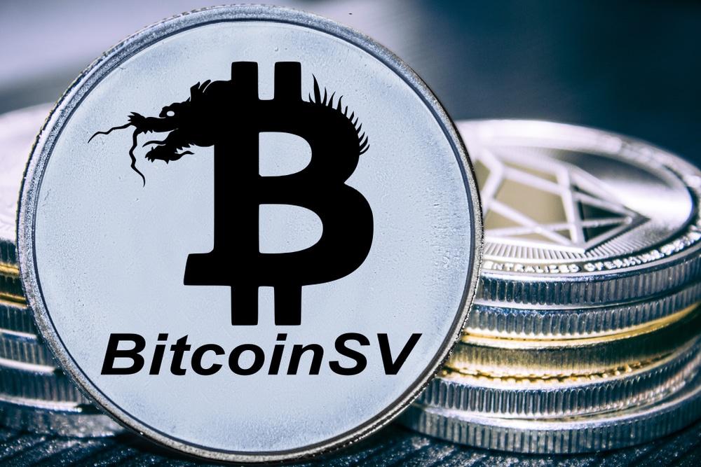 Logo du Bitcoin SV ou Bitcoin Satoshi's Vision.